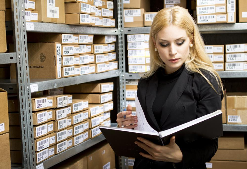 Inventory flow is usually monitored by managers at every site within a business's network.