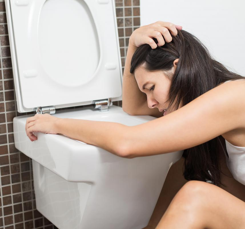 Vomiting can be a symptom of a vitamin C overdose.