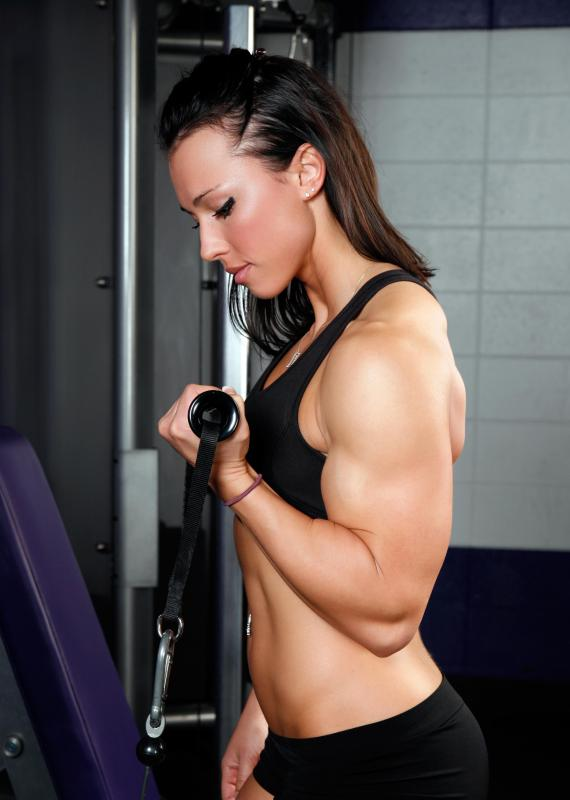 Bicep curls can strengthen the muscles of the upper arm, some of which are integral to elbow flexion.