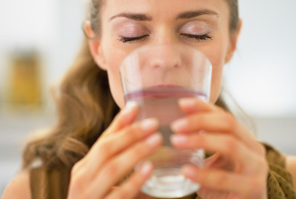 It is important to drink plenty of water when taking doxycycline.