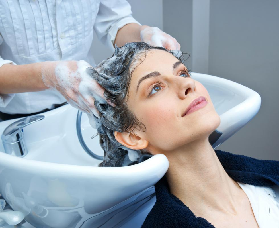 High end salons have employees who specialize in washing, coloring, or cutting hair.