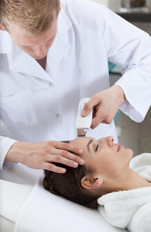 Dermabrasion may be used to remove scars made of fibrous tissue.