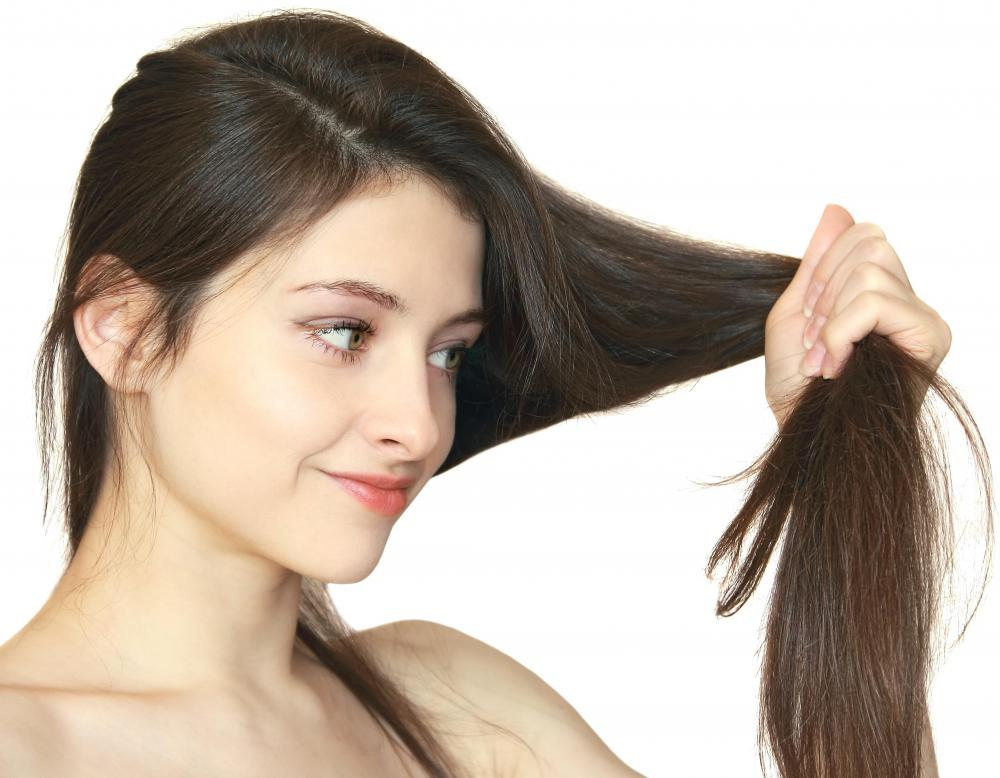 Using placenta for hair may help repair dry, damaged hair.