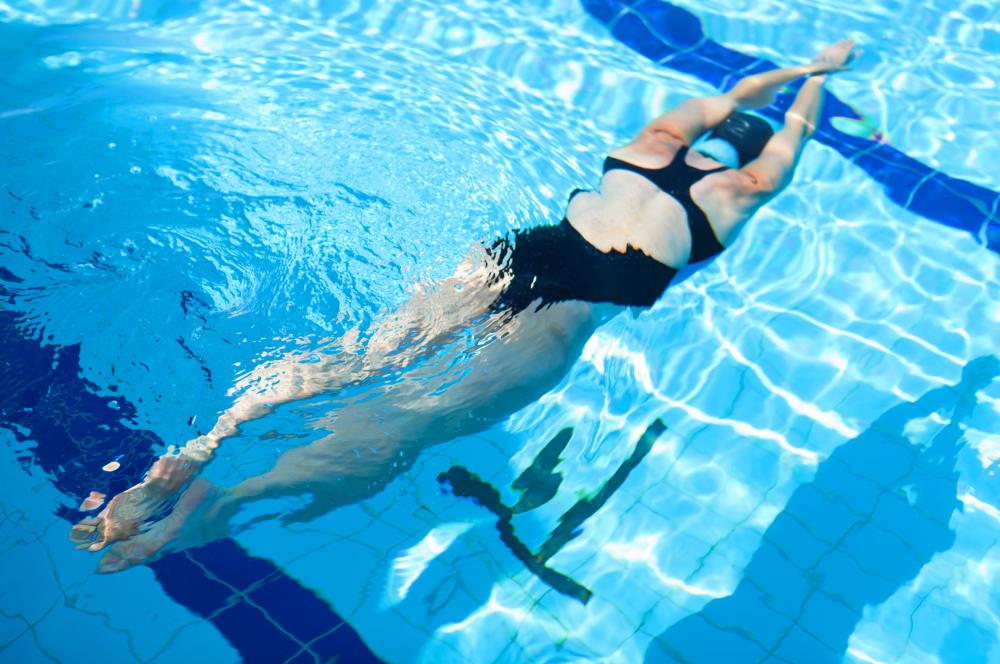 Going for a vigorous swim after a very large meal may cause vomiting and cramping.