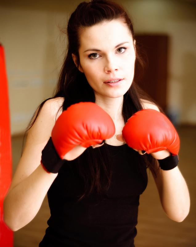 Sparring is one kind of exercise class that people may take.