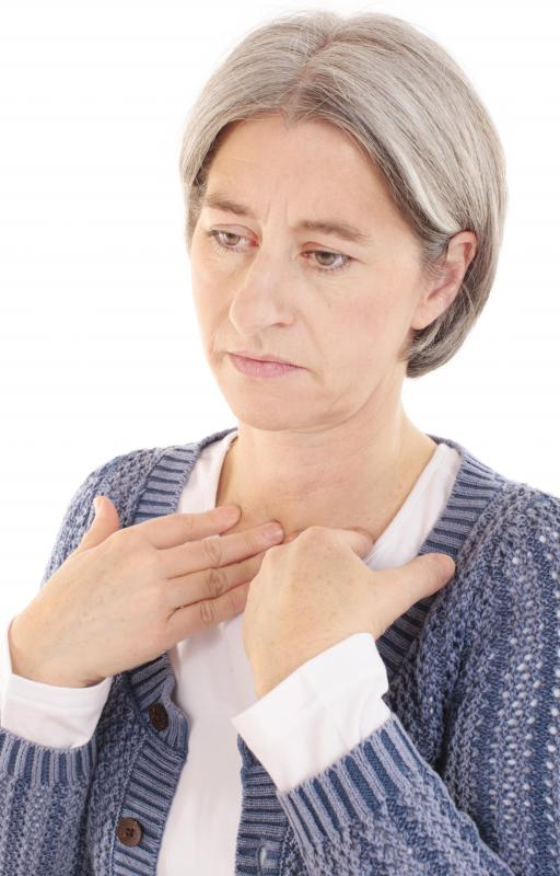 Hand spasms may occur as a result of thyroid problems.