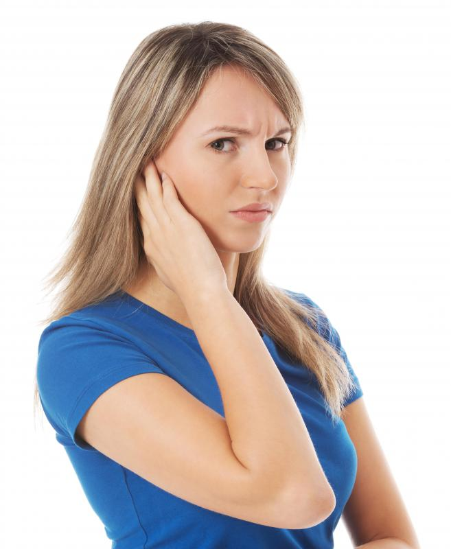 Ear wax blockage may cause ear pain.