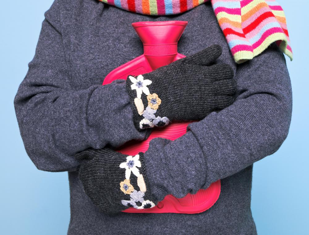 Thin fleece gloves can be worn under bulkier wool gloves for added warmth during cold weather.