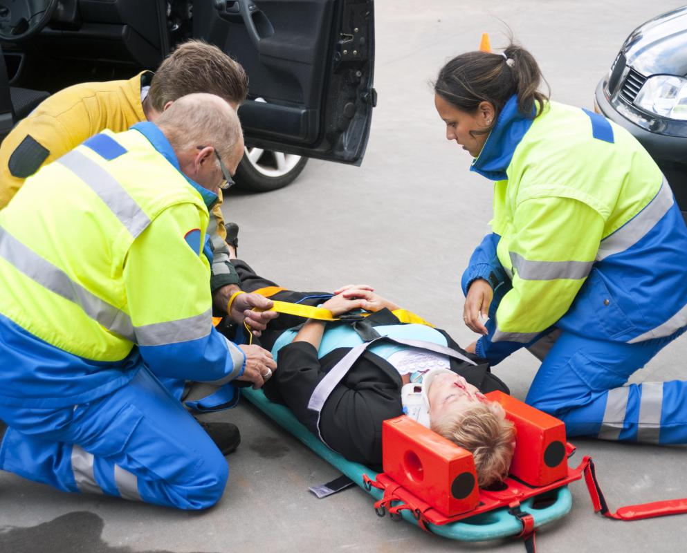 The main job of a paramedic is to stabilize a patient for transport.