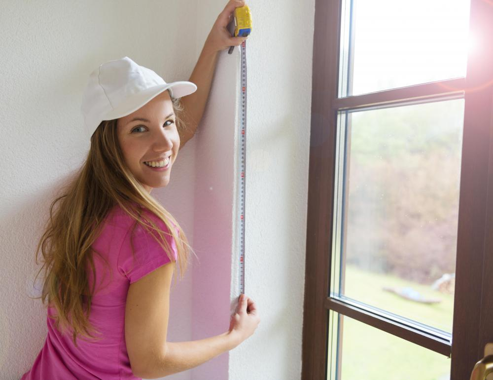 Measure carefully before buying window screens.
