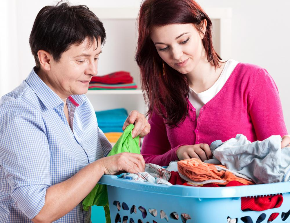 Regular washing of clothes can help eliminate set in body odors.
