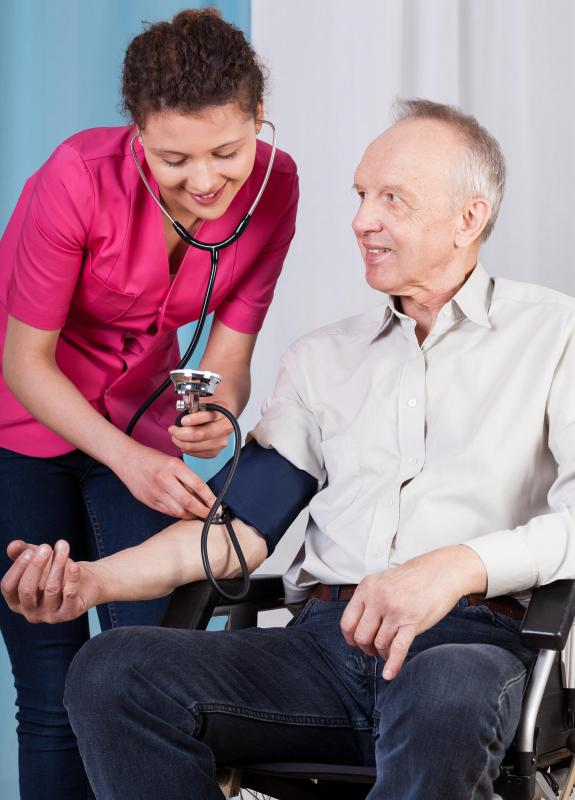 High blood pressure may cause vascular tone dysfunction.