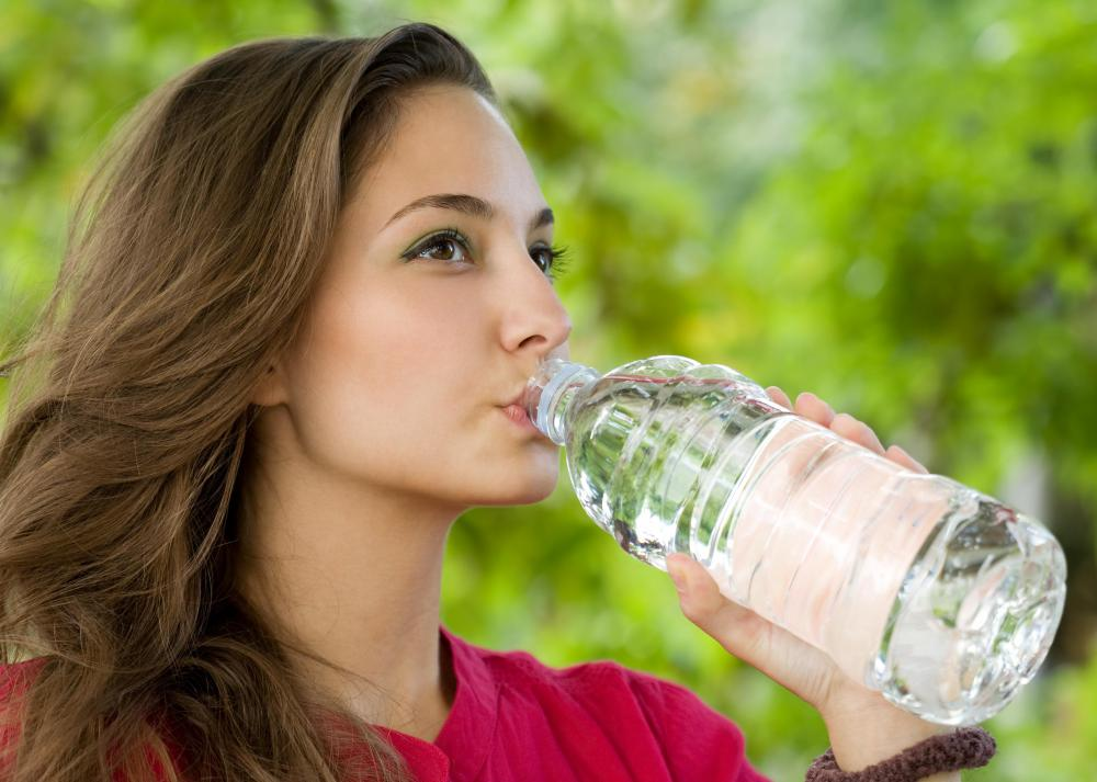 Most of the oxygen in a bottle of oxygenated water will escape when the bottle is opened.