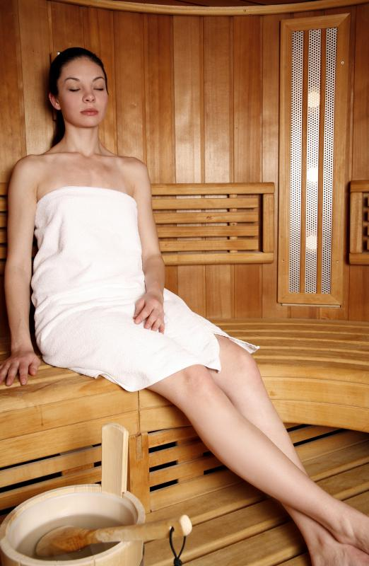 Saunas often get mold growth.