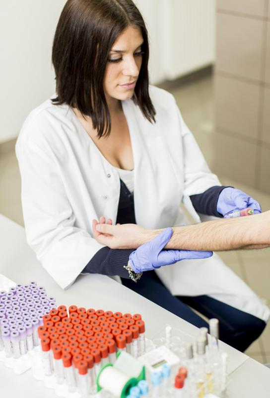 Kidney disorders may be diagnosed using a patient's bloodwork.