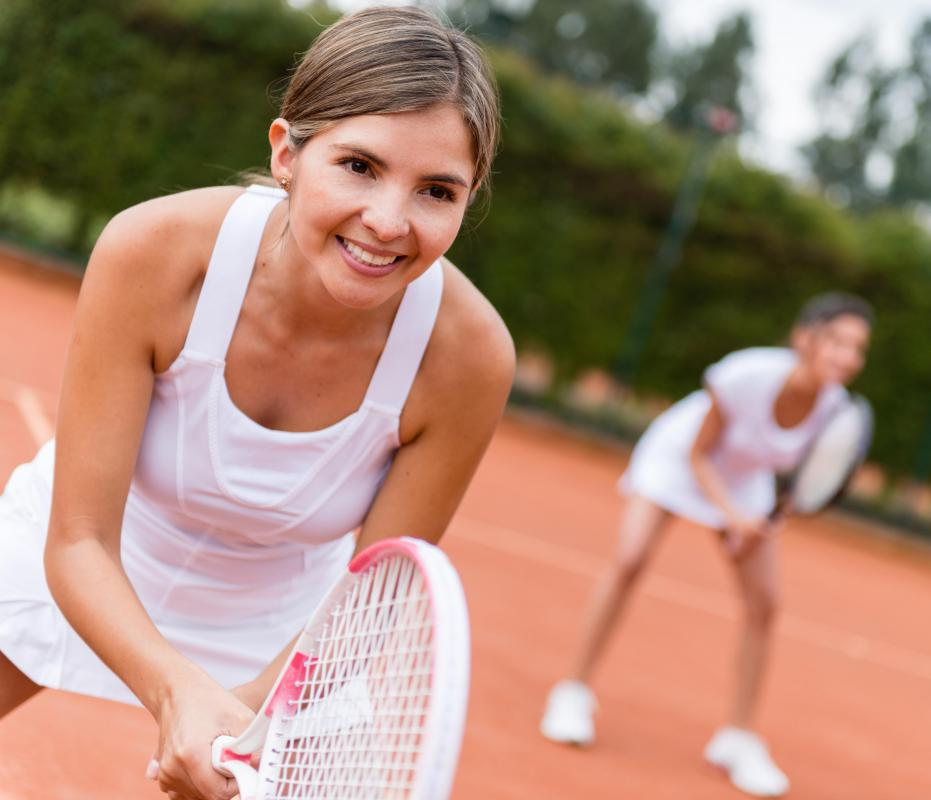 Racquetball is a fast-paced alternative to tennis.