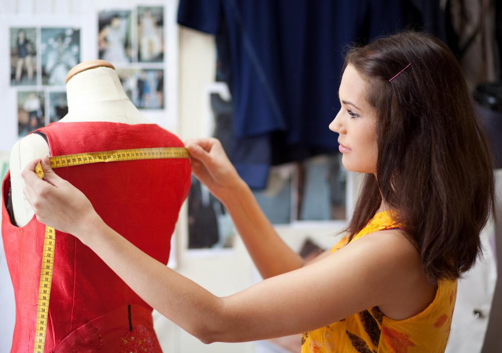 The fashion industry consists of designers who create the concept of a piece of apparel.