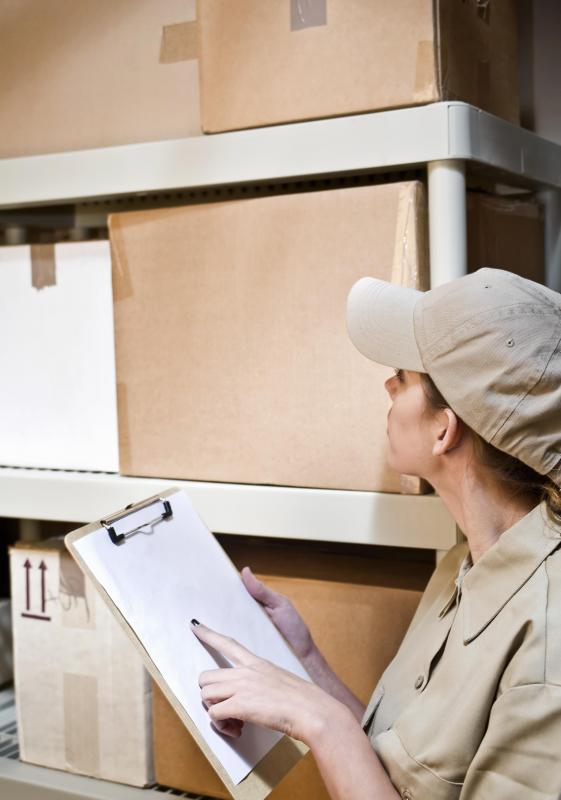 Purchase order numbers can help warehouse personnel efficiently fill out order requests.