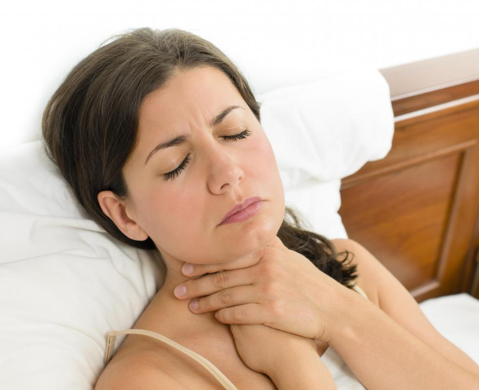 A sore throat may develop if a person does not seek treatment for a chancre.
