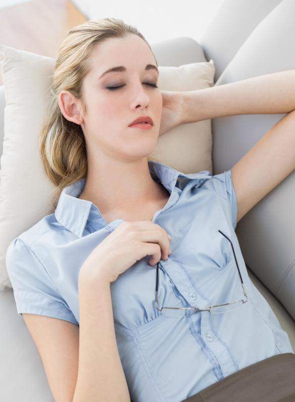 An ear infection may cause dizziness when lying down.