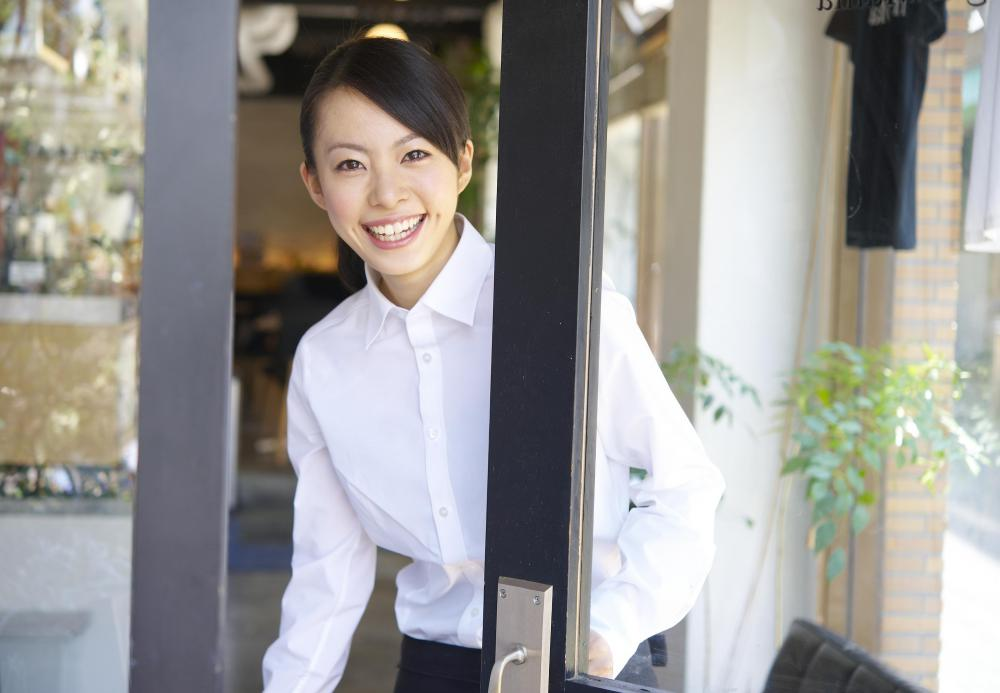 A restaurant hostess typically handles front-of-house duties.