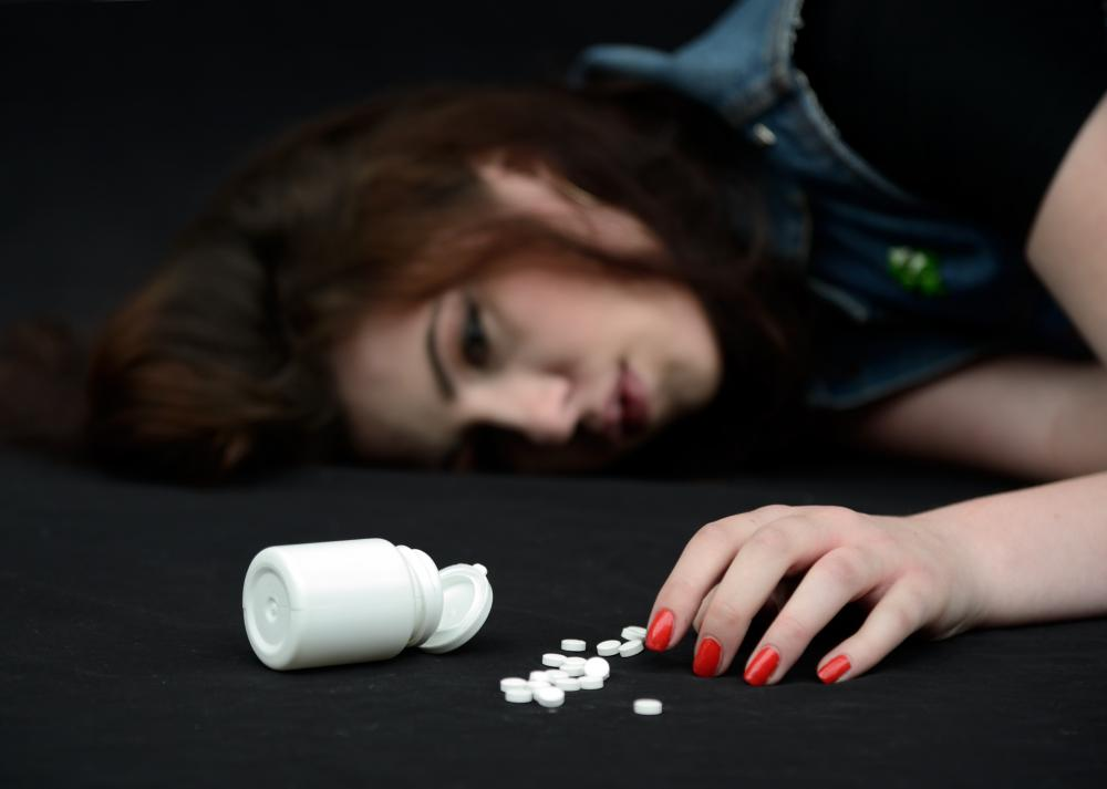 Sodium carbonate is sometimes used to treat an overdose.