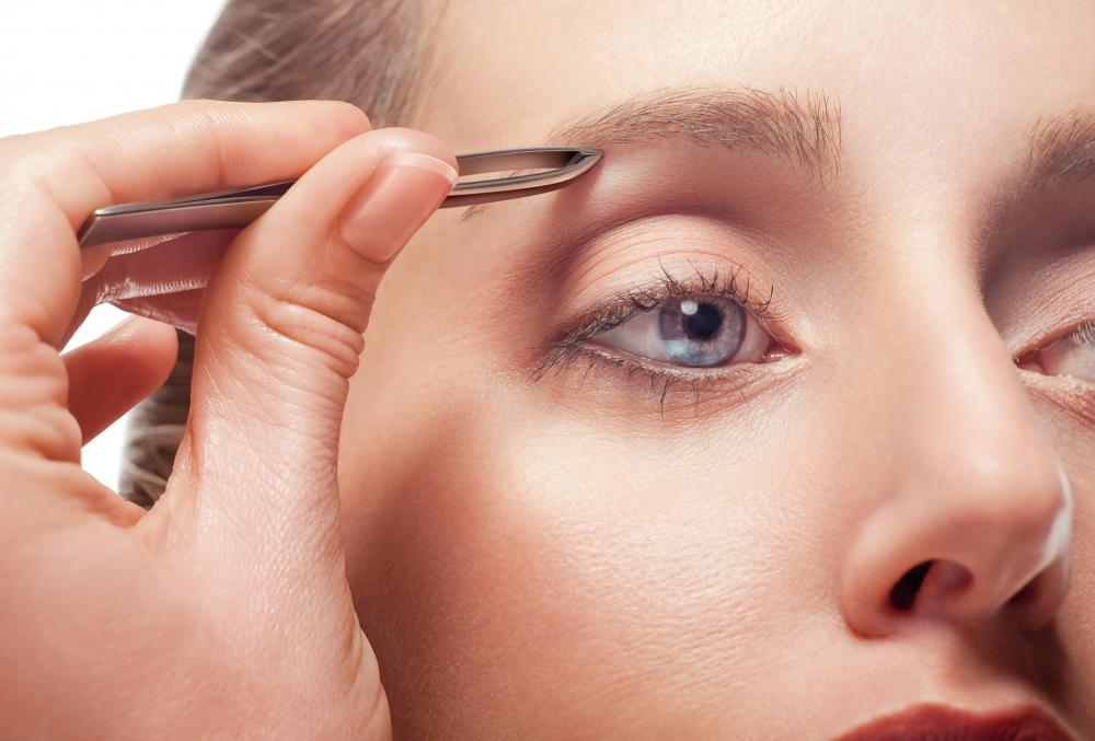 Estheticians may select a specialty such as eyebrow design.