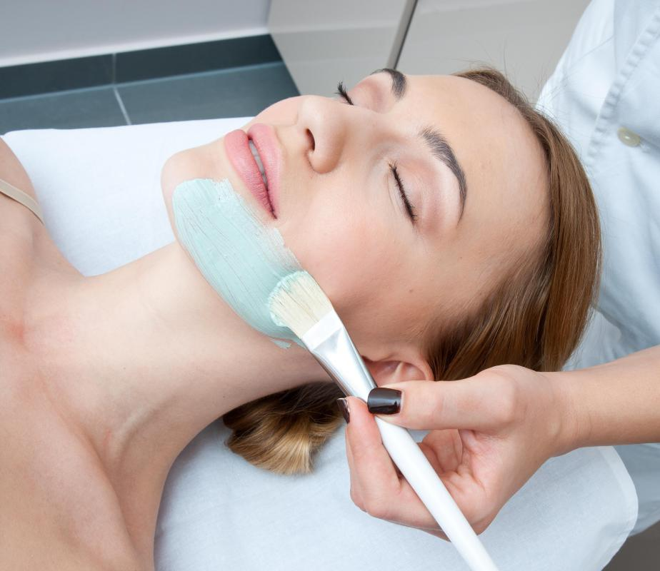 Some salons specialize in skincare services like facials.