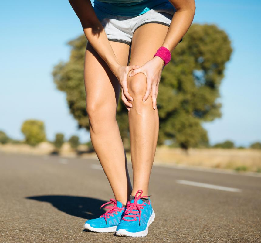 Tibial tubercles are located just below the knee cap, which is technically called the patella.