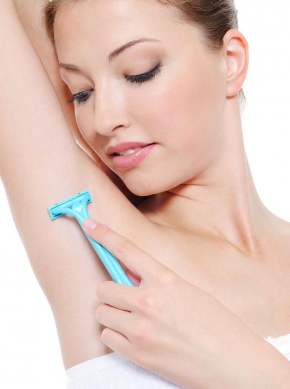 Shaving the hair of the armpits may cause axillary infections.
