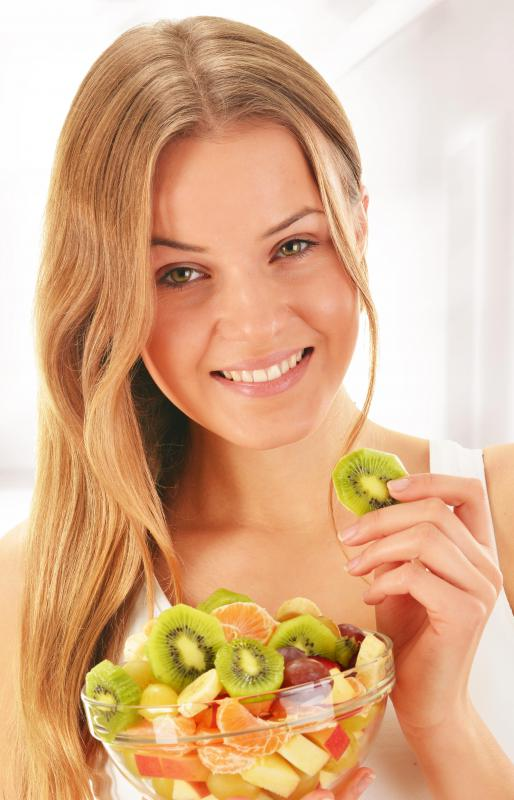 Kiwis are rich in lutein, an antioxidant that helps preserve eyesight.
