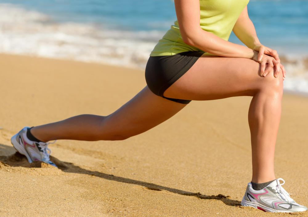Lunges are considered a static stretch.