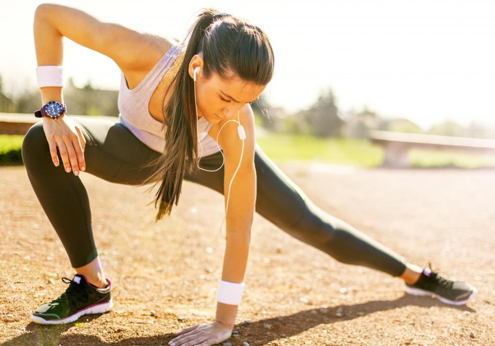 Stretching exercises are often incorporated into regular workout routines.