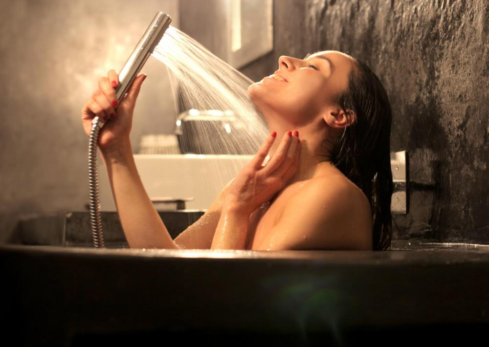 High water pressure can be achieved to a lesser degree with hand-held shower heads.