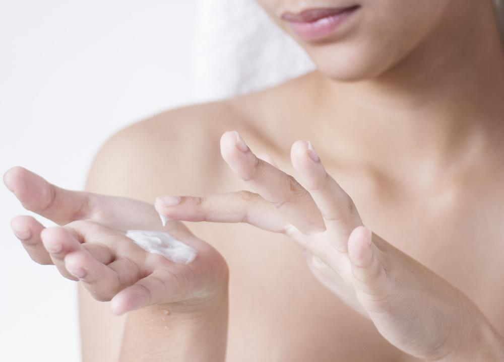 Lotions for the body might be use to address the skin issues that occurr on the arms and legs.