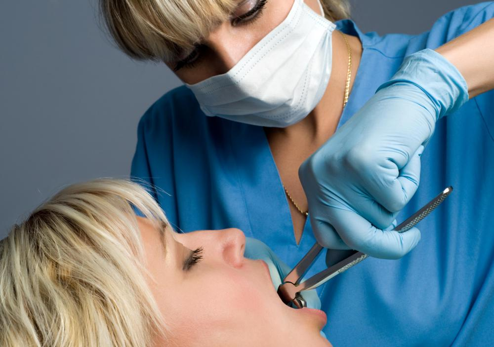 Dental patients receive Novocaine, a form of local anesthesia, to block pain during a procedure.