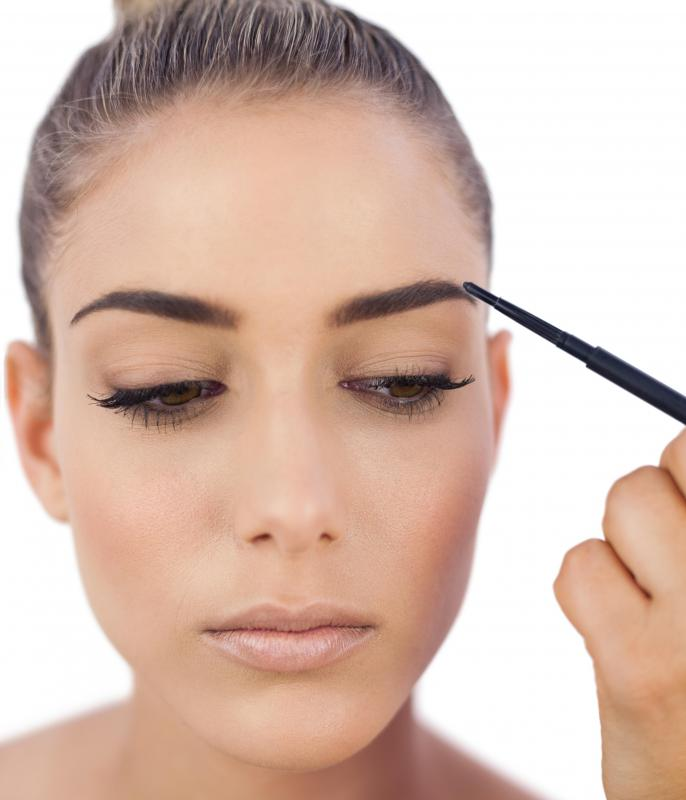 An eyebrow tattoo might be useful to someone who frequently uses eyebrow pencil.