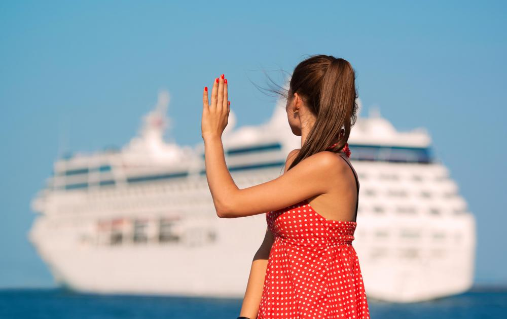 A cruise travel package affords passengers the opportunity to visit various ports.
