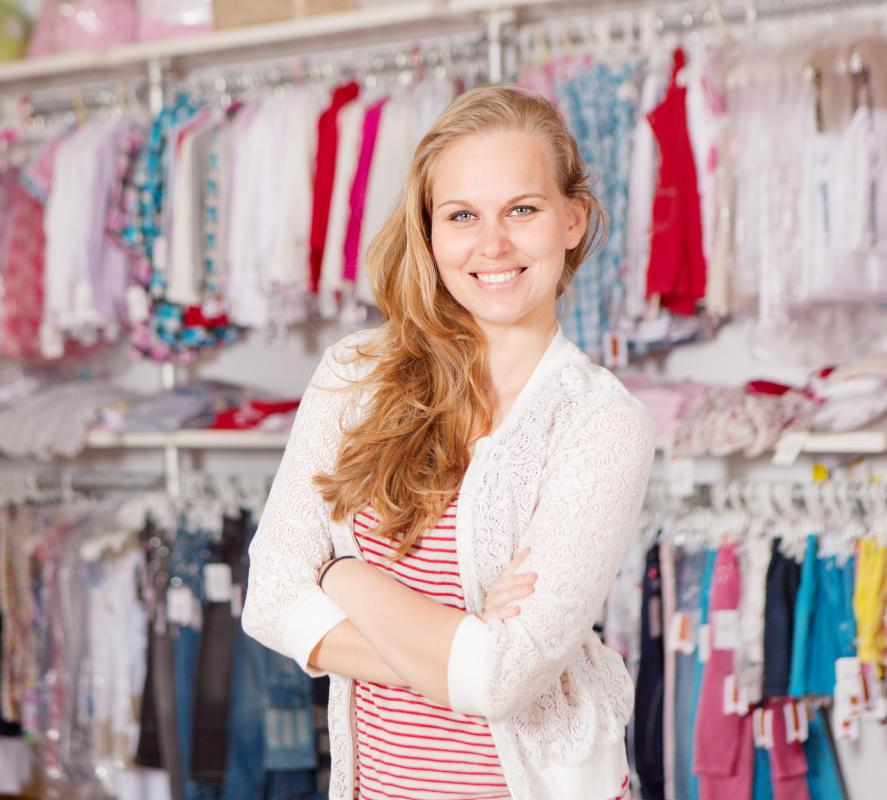 Small, independent shops are part of the retail industry.
