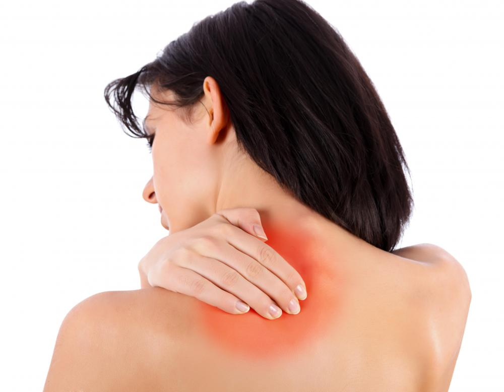 Pain in the shoulder is often a result of muscle problems.