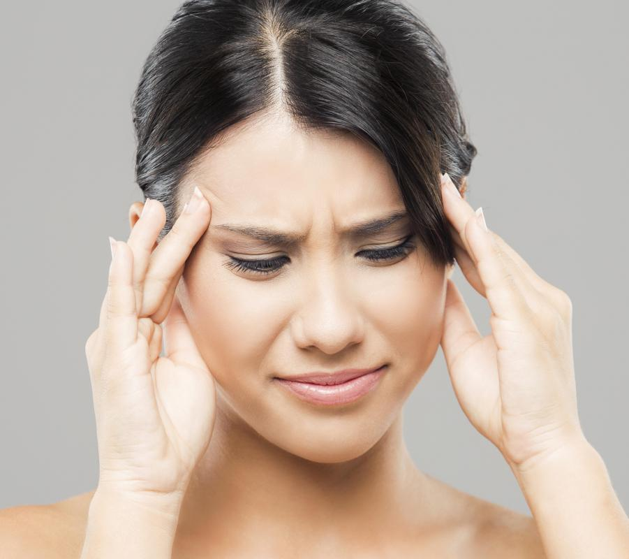 Headaches may be a side effect of medication for vaginal bacterial infections.
