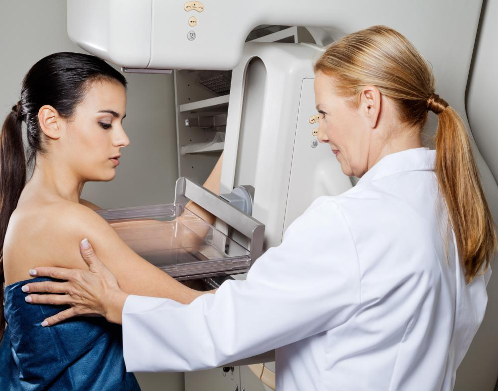 Thermograms are sometimes used in conjunction with mammograms.