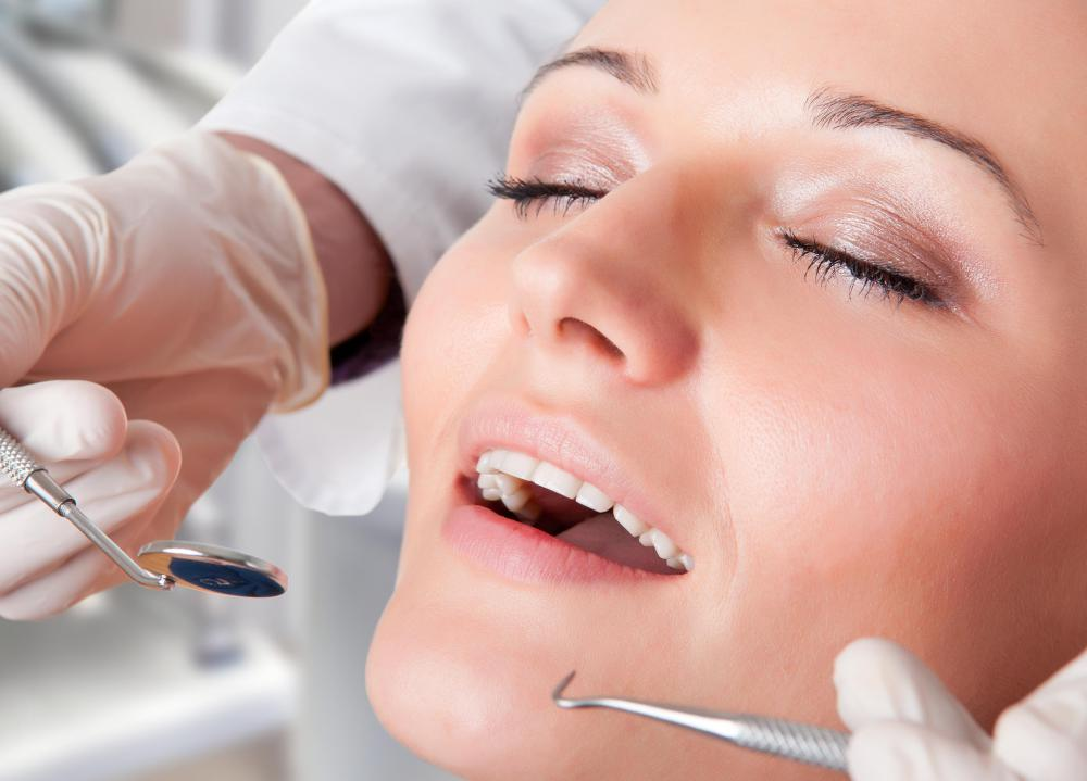 Issues with the dental arch can typically be determined during routine dental checkups.