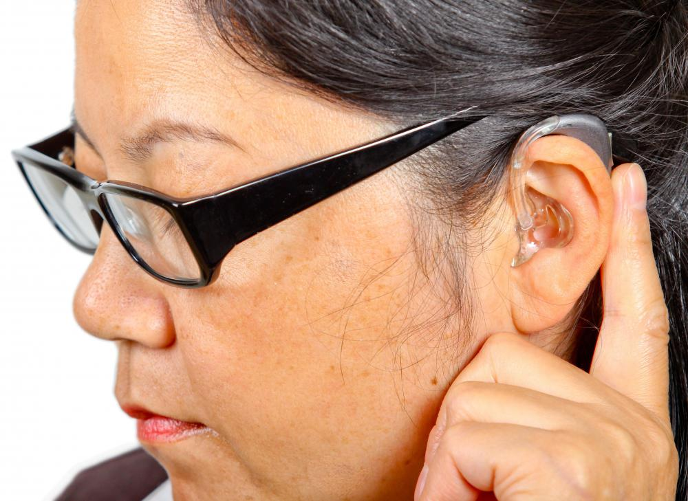 There are several types of hearing aid technology for people with specific types of hearing loss.