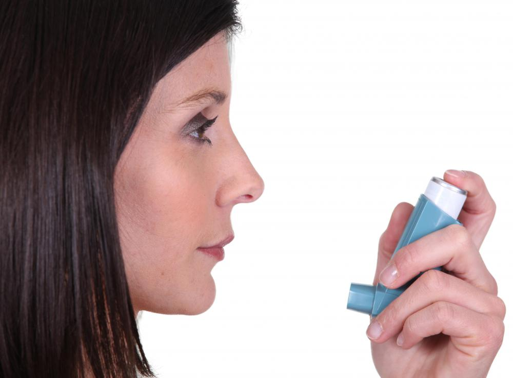 Asthma can sometimes cause chest pain and fatigue.