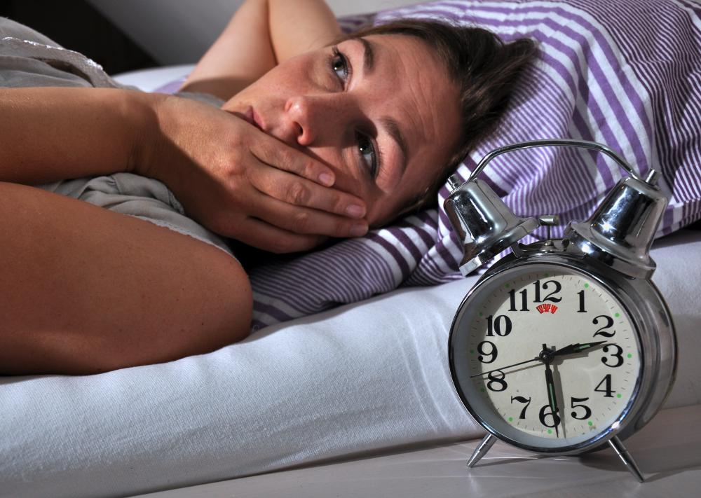 People with an overactive thyroid may experience insomnia.