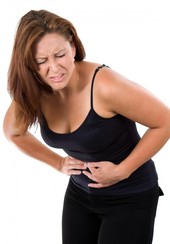Those with problem digesting fat may experience abdominal cramping during digestion.