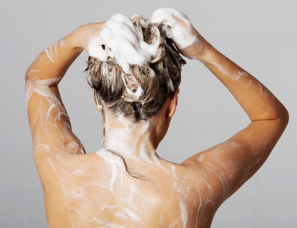 Use of harsh shampoos may cause a dry scalp.