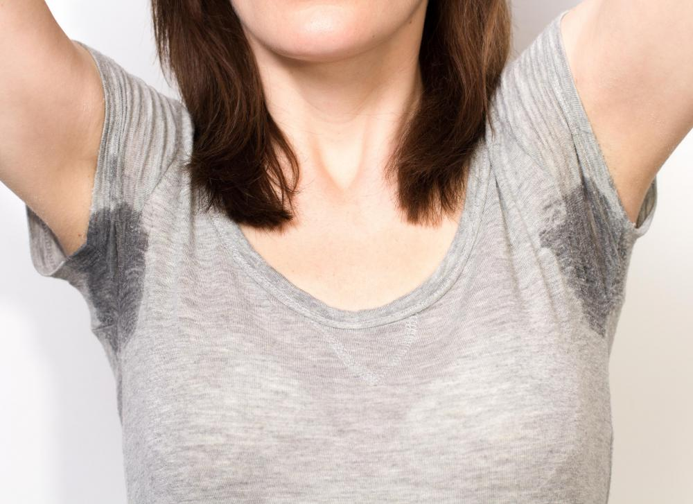 Excessive sweating is often experienced by women during menopause.