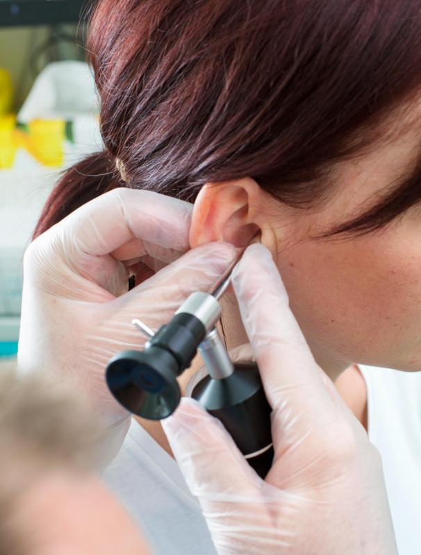 An audiologist can explain the advantages and disadvantages of available hearing aid options.